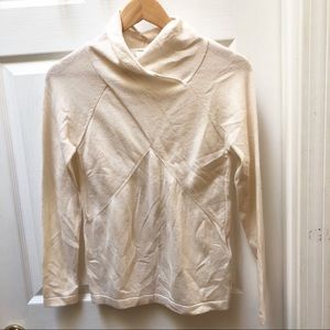 Reiss Cashmere blend ivory sweater